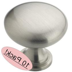"Amerock BP53005G10 1-1/4"" Satin Nickel Knob"
