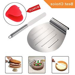 KALREDE Cake Lifter Round 10 Inch - Pizza Peel Pizza Spatula