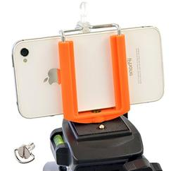 DaVoice Cell Phone Tripod Mount Adapter Holder Clamp for iPh