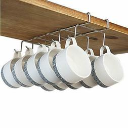 Coffee Mug Holder - 304 Stainless Steel Cup Rack Under Cabin