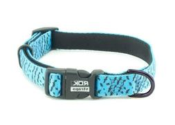 ROK Straps Collar Strap, Blue/Black, Small