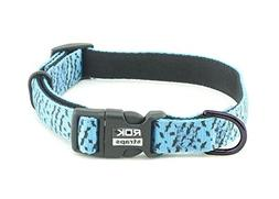 ROK Straps Collar Strap, Blue/Black, Medium