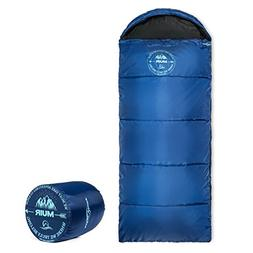 Lucky Bums Youth Muir Sleeping Bag 40°F/5°C with Digital A