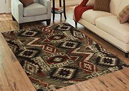 Benissimo Contemporary Madrid Collection Area Rug by Cozy, S