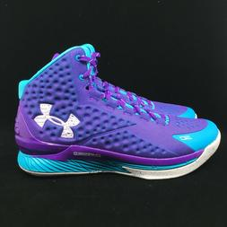 Under Armour Curry 1 Father to Son Purple Blue Size 10 10.5