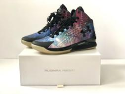 """Under Armour Curry 1 """"Space Icon"""" Mens Size 10 - 100% Au"""