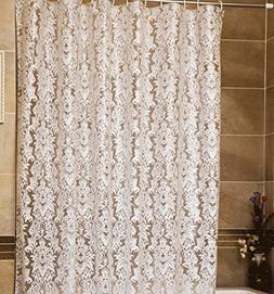 UFRIDAY Shower Curtain Liner PEVA with Design, Bath Curtain