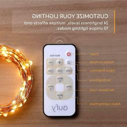 eufy 33 ft LED Decorative Lights Dimmable with Remote Contro