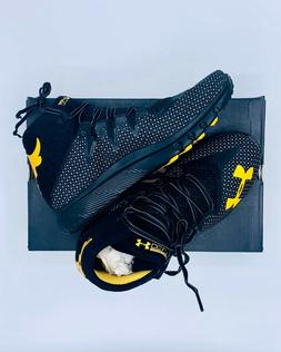 UNDER ARMOUR DELTA HIGHLIGHT PROJECT ROCK OG BLACK/YELLOW SH
