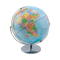 Advantus 12 Inch Desktop World Globe with Blue Oceans