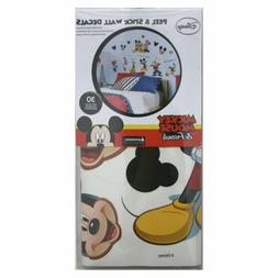 Disney Mickey and Friends Peel and Stick Wall Applique