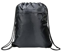 Gym Drawstring Backpack Bag for Women & Men, Cinch String Sa