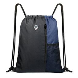 Drawstring Backpack Sports Gym Bag for Women Men Children La