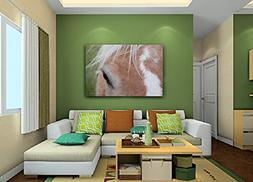 Equine Art on CANVAS Horse Print Palomino Photo Girl's Room
