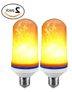 LED Flame Effect Light Bulbs by S.A.Pro | A Bright Set of De