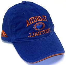 adidas Florida Gators Royal Blue Collegiate Football Adjusta