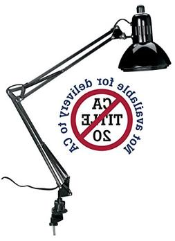 Alvin G2540-B Swing-Arm Lamp Black
