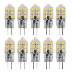 Dayker 2W G4 LED Bi Pin Bulb Dimmable Jc Type G4 Base Lightb