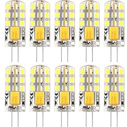 G4 LED Bulbs, G4 Base Bulb 12V Daylight White 6000K 2Watt Bi