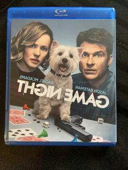 Game Night  NEW Jason Bateman  Rachel McAdams NO SHRINK WRAP
