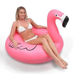 Giant Flamingo Party Tube Inflatable Raft Pool Float Lounger