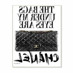 Glam Bags Under My Eyes Wall Plaque Art  Oversized