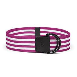 adidas Golf Women's Webbing Belt, Bahia Magenta, Adjustable