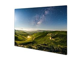 Ashley Giclee Green Meadows Under The Stars Milky Way, Wall