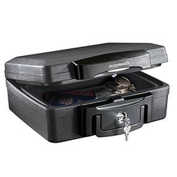 SentrySafe H0100 Fireproof Waterproof Box with Key Lock, 0.1