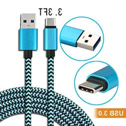 Hi-speed USB Type C to USB-A 3.0 cable for Samsung Galaxy No