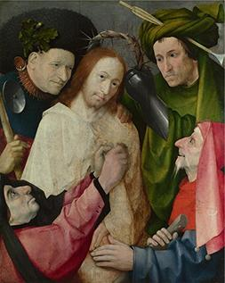 'Hieronymus Bosch Christ Mocked  ' Oil Painting, 8 X 10 Inch