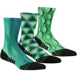 Outdoor Hiking Cushion Socks HUSO Novelty Quick Wicking Gree