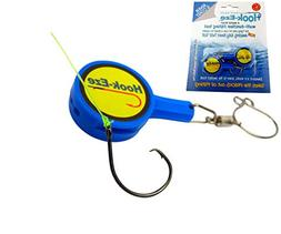 Hook-Eze Fishing Tool - 1 Twin Pack - Hook Tying & Safety De
