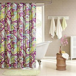 Intelligent Design ID70-055 Melissa Shower Curtain, 72 x 72,