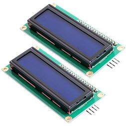 FICBOX IIC/I2C 1602 Serial 5V Blue Backlight LCD Display For