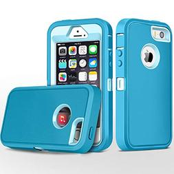 iPhone 5S Case,iPhone SE Case,Fogeek Heavy Duty PC and TPU C