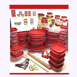 60 Piece Kitchen Set  Made in the USA | Food Prep Containers