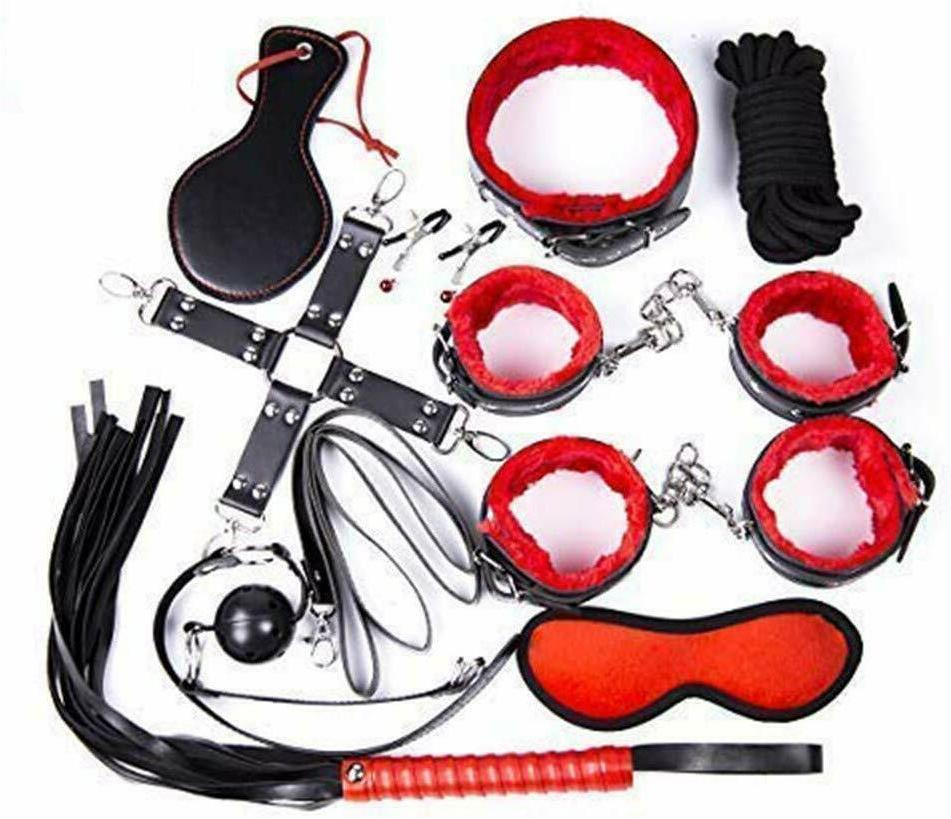 10 pcs under bed bondage set restraint