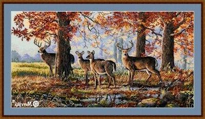 10 percent off counted cross stitch kit