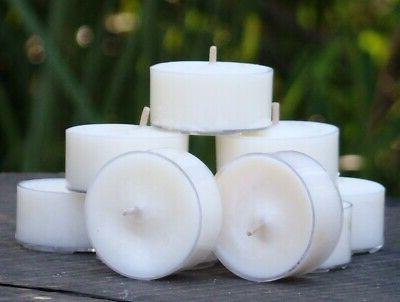 10pk coco chanel scent tea light candles