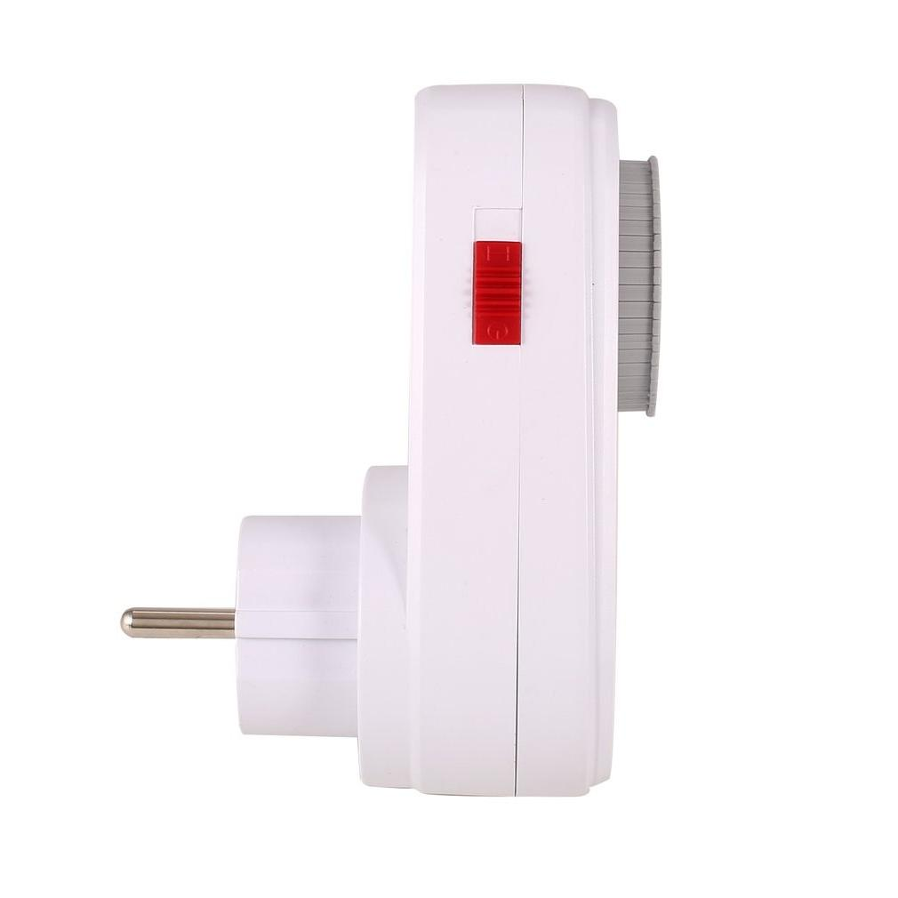 24 Hours Plug Mechanical Grounded Switch Smart Countdown Socket <font><b>Indoor</b></font> off