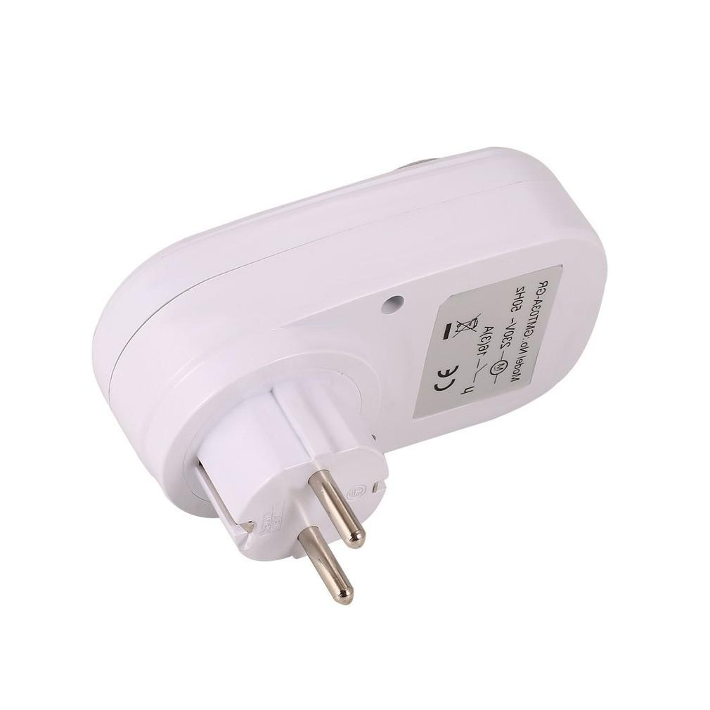 24 Hours Mechanical Grounded Programmable Timer Switch Socket <font><b>Indoor</b></font> Auto off