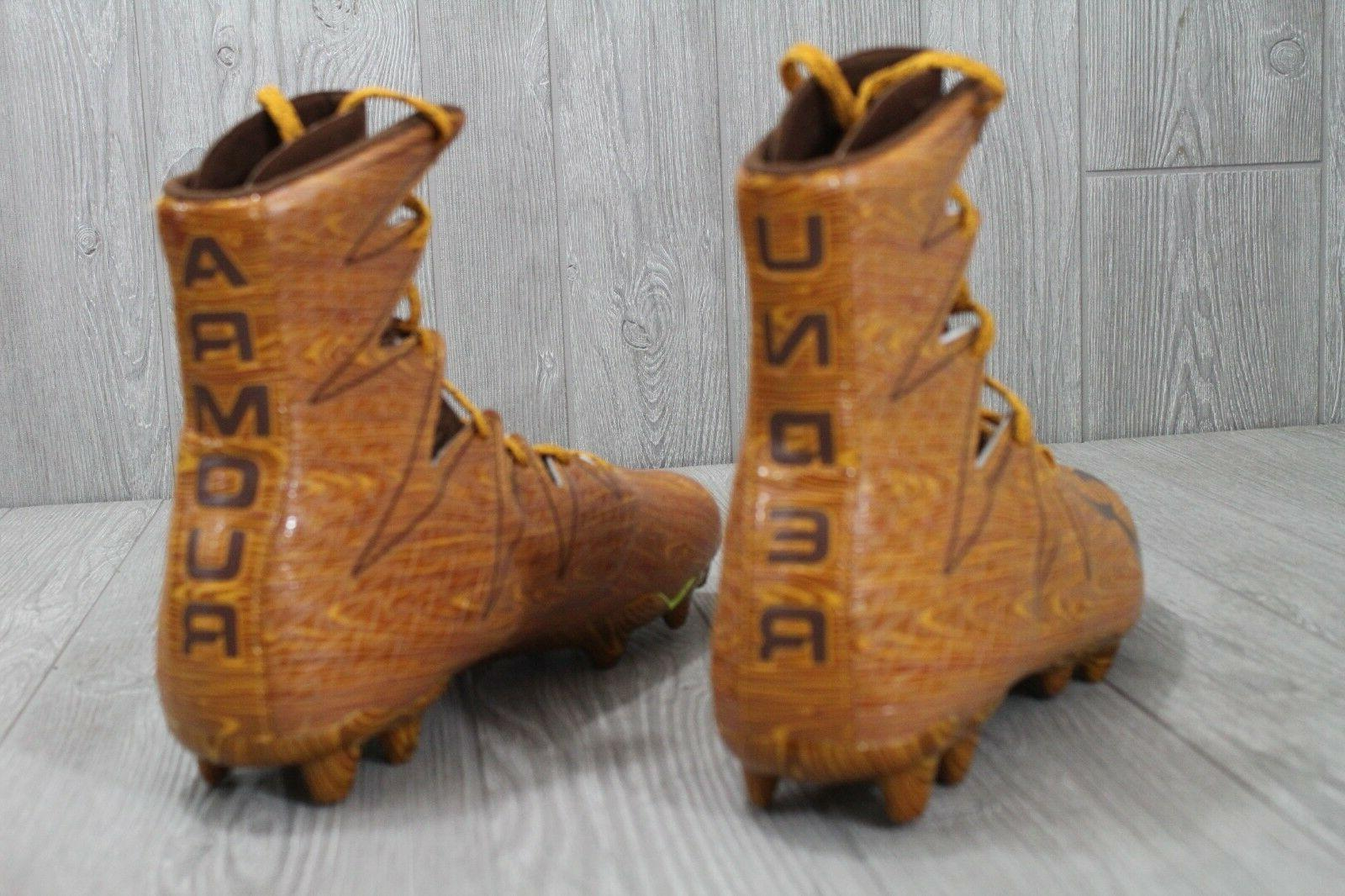 26 ARMOUR Highlight Wood Clutch Fit Molded Cleats 10.5-12