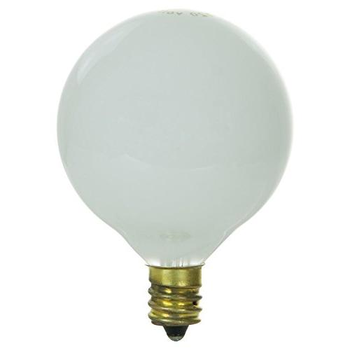 Sunlite Incandescent G16.5 Bulb with Candelabra