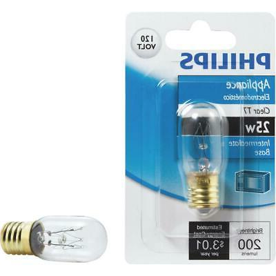 Philips Appliance T7 Light Bulb: 2800-Kelvin, 25-Watt, Inter