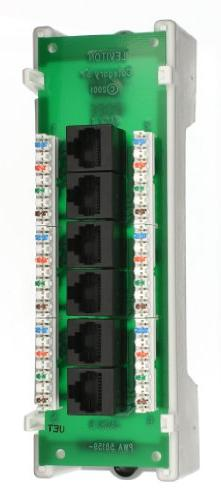 Leviton 47605-C5B Category 5 Voice and Data Module 6-Port, B
