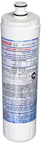 Bosch 640565 Refrigerator Water Filter, 2-Pack