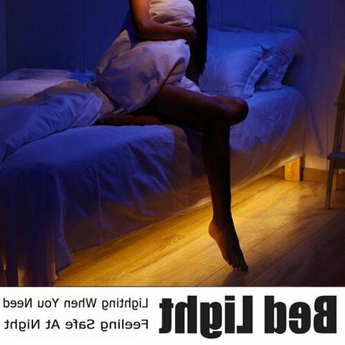 6W LED Strip Under Bed Activated Lamps Warm