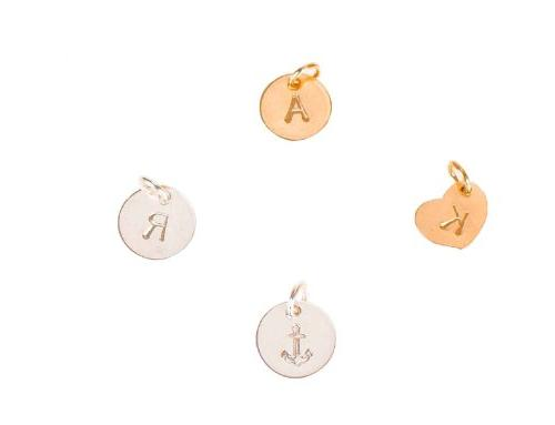Extra Initial or Symbol - Tiny Sterling Silver or Gold Fille