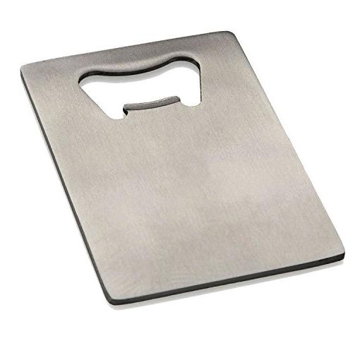 Generic Credit Card Bottle Opener for Your Wallet Stainless
